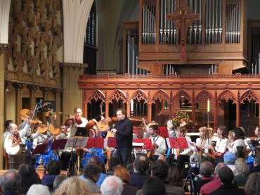UW Russian Folk Orchestra. Photo by Kenn Jeschonek.
