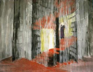 Grace Renzi : N° 113 : 1960's, acrylic + black ink