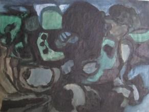 Grace Renzi : N° 12 : 1951/52, 45 x 60 cm.