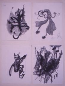 Grace Renzi : N° 130 : 1971/72, each 30 x 25 cm.