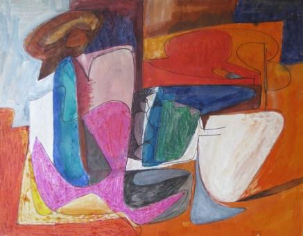 Grace Renzi : N° 16 : 1951, 47 x 60 cm.
