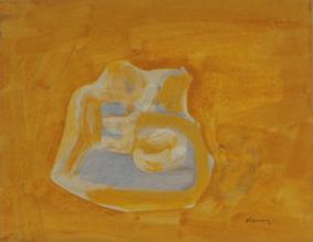 Grace Renzi : N° 207 : 1970's, acrylic color, 25 x 32 cm.