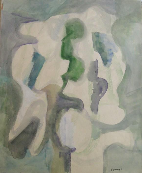 Grace Renzi : N° 21 : 1951/52, 42 x 35 cm.