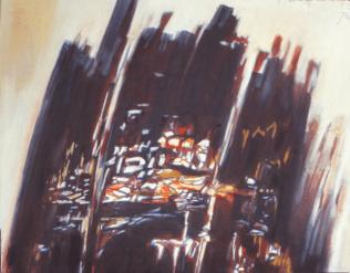 Grace Renzi : N° 254 : 1980's, 43 x 53 cm.