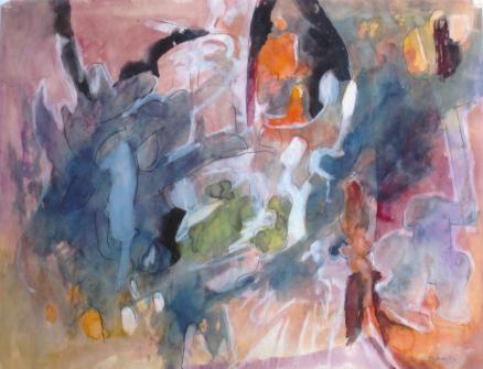 Grace Renzi : N° 31 : 1953, 33 x 43 cm.