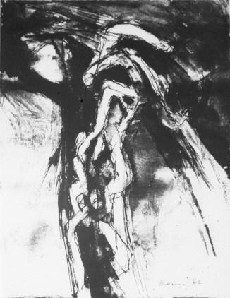 Grace Renzi : N° 76 : 1960's, ink on paper