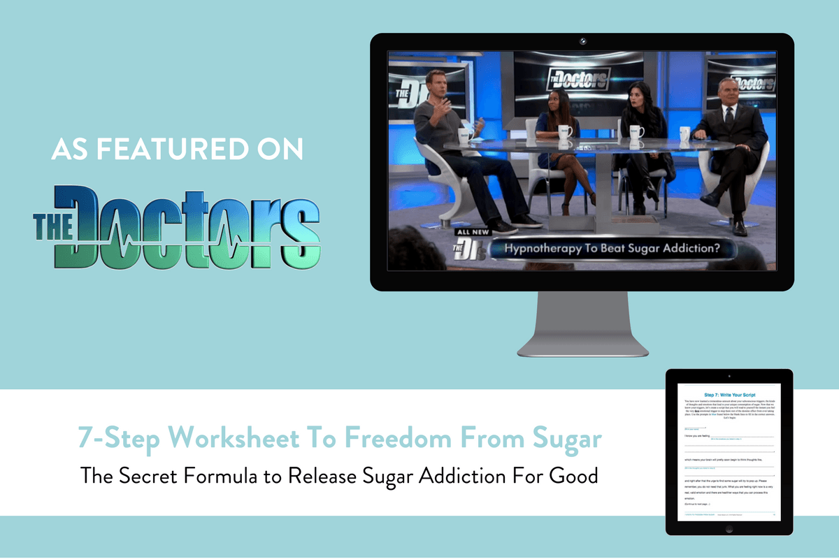 7 Step Worksheet To Freedom From Sugar