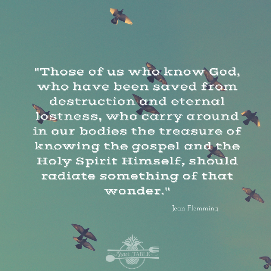 Those of us who know God, who have been