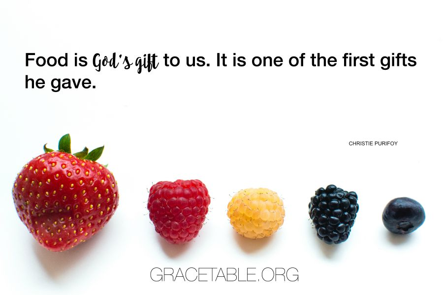 Food is a gift_GT