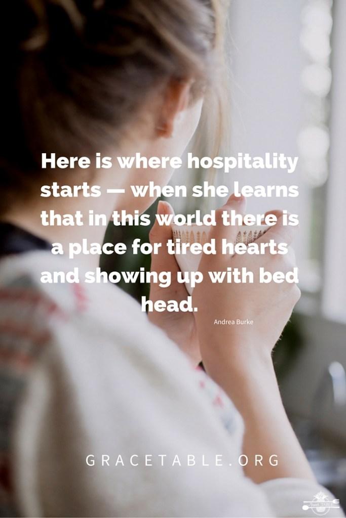 Here is where hospitality starts _AndreaBurke_Pinterest_GraceTable