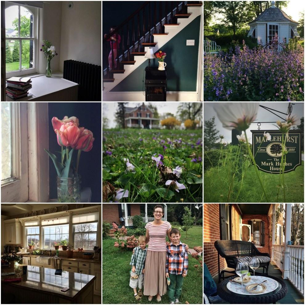 Life at Maplehurst. Photos courtesy of Christie Purifoy.