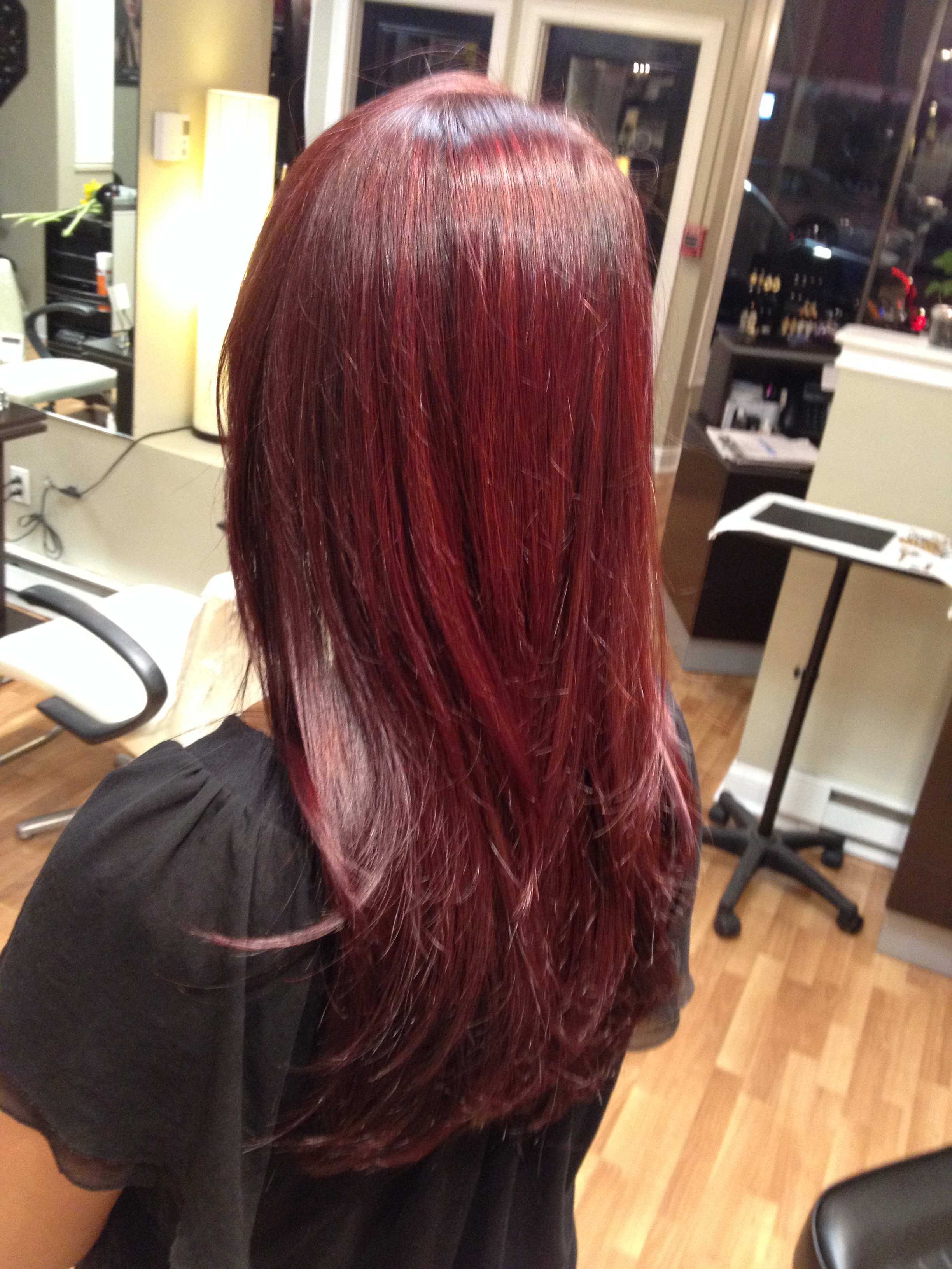 Red Hair Color Grace To Create