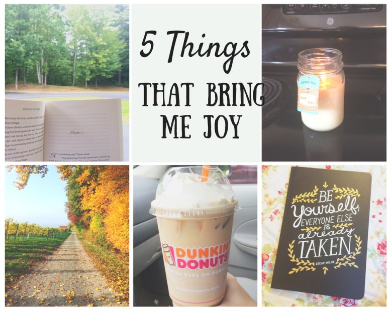 5 Things That Bring Me Joy || Grace to Grow Blog
