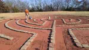 Labyrinth Tamping Grace Olathe