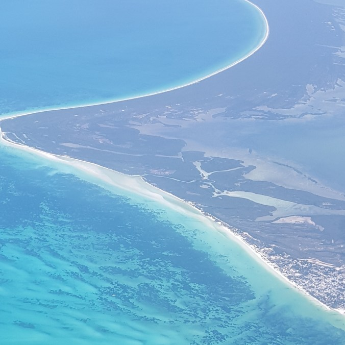 My view from the plane flying into Cancun last week!