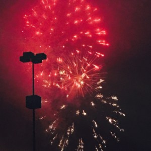 Photo I took on the 4th of July.