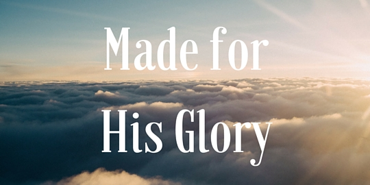 Made for His Glory-web