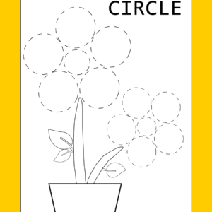 printable circle tracing worksheet
