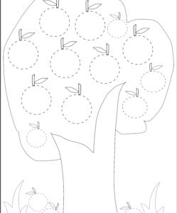 tracing circles pdf