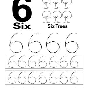 number 6 worksheet pdf