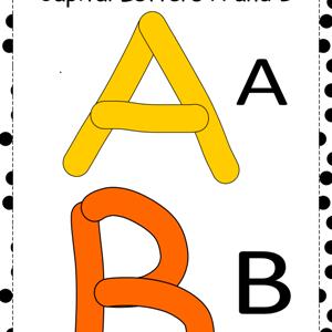 free alphabet play printable pdfdough mat