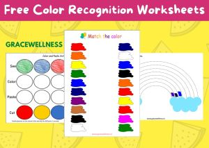free printable color worksheet for nursery toddlers