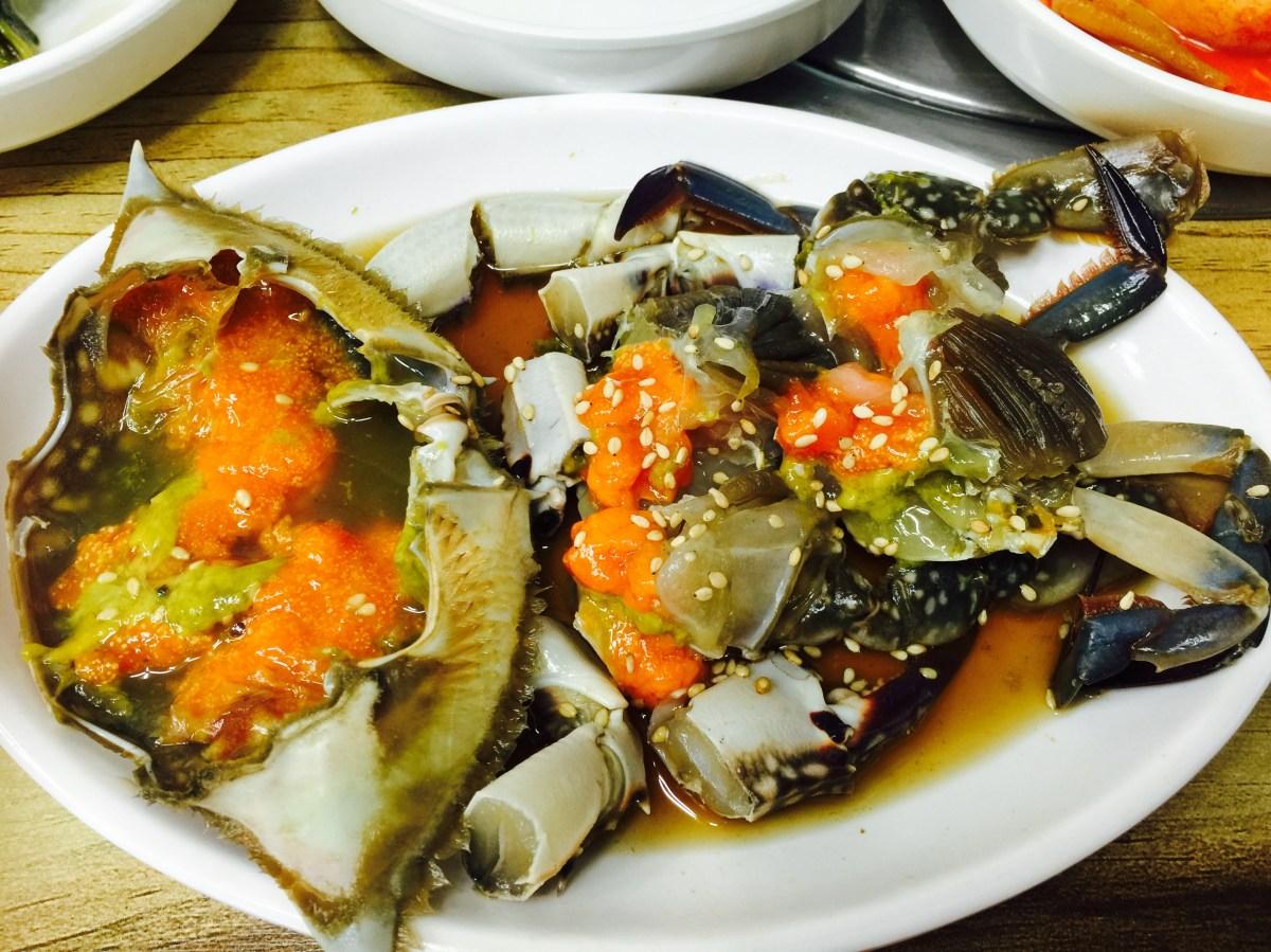 「我愛韓國特色美食之第一輯」口感之王醬油螃蟹 « GRACE WORKING ABROAD Grace國際工作大小事