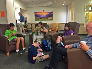 Kids in Waiting Room