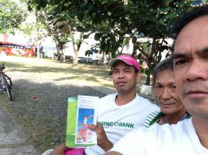 Roel with 2 and Brochure_Bible