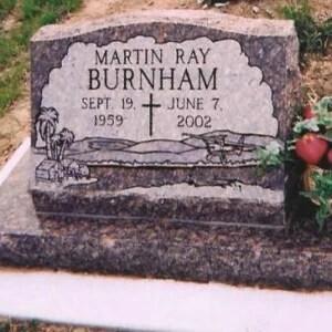 Martin's Grave Stone Front