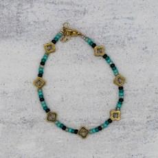 Armband - Vintage Flowers Ocean - GraciArt