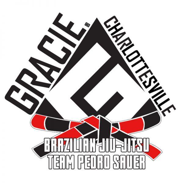 gracie charlottesville decals black