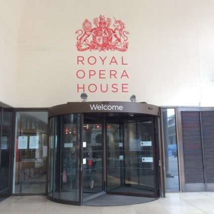 We popped into the Royal Opera House for a nose around, but sadly didn't actually watch anything there!