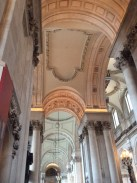 My sneaky photo from inside St Paul's (where strictly no photography is allowed!)