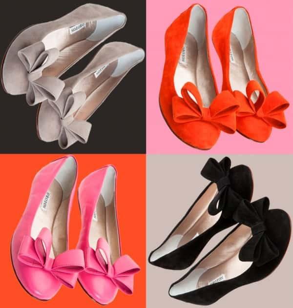 flats shoes oroton 2012