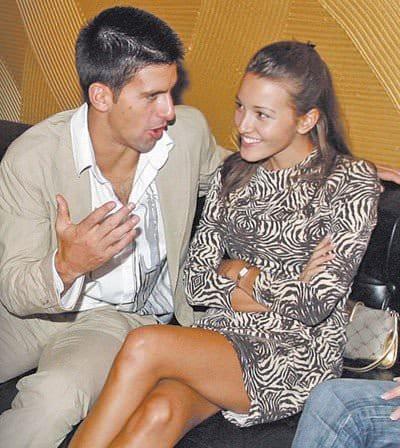 Jelena Ristic & Novak Djokovic