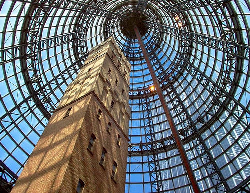 melbourne central shopping center - shot tower