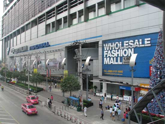 platinum fashion mall wholesale bangkok thailand