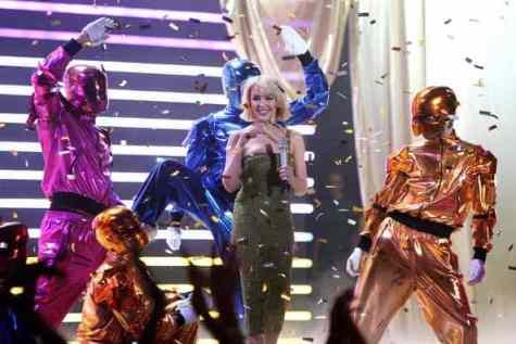 Kylie Minogue Brit Awards 2008 Show