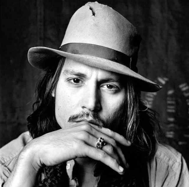 Johnny Depp Fashion Icon - He Knows how to dress - Wearing hat 2