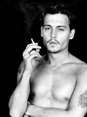 Johnny Depp Fashion Icon - He Knows how to dress - Torso Tattoo