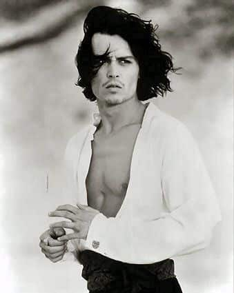 Johnny Depp Fashion Icon - He Knows how to dress - Torso
