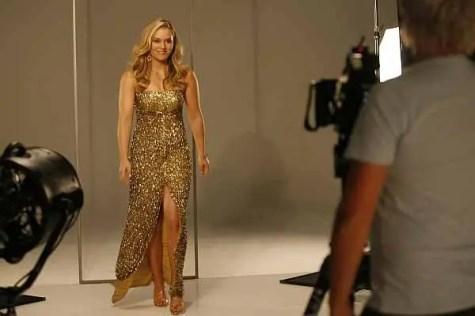 Lindsey Vonn posing for camera