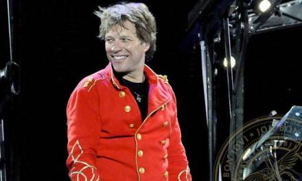 Jon Bon Jovi – Still Rocks In His Fashionable Way.