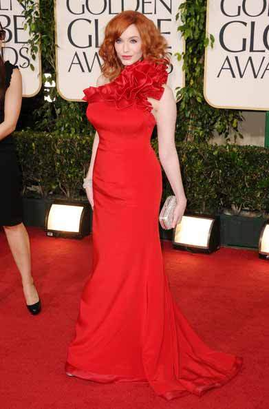 Christina Rene Hendricks - The Plus Size Woman Who Knows How To Dress - gracie Opulanza red dress