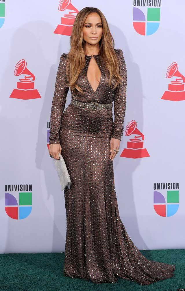 Jennifer Lopez - breasty dress
