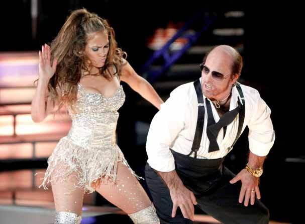 Jennifer Lopez in action