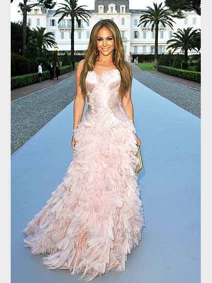 Jennifer Lopez Fashion Icon - Pink dress 3