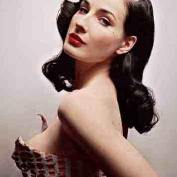 Dita Von Teese - 1940's Burlesque, Vintage Fashion Icon (20)