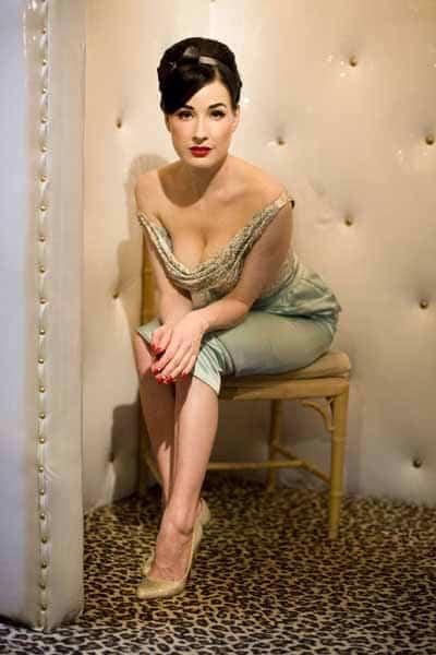 Dita Von Teese - 1940's Burlesque, Vintage Fashion Icon
